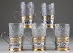 Russian Tea Glass Holders
