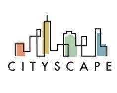 CityScape Logo Design - here& a nice abstract city logo as you can see - Building Logo, Logos, Logo Branding, Skyline Logo, Library Logo, Church Logo, City Logo, Abstract City, Architecture Logo