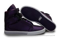 Supra TK Society DarkPurple Mens High Tops