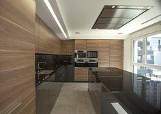 Integrar la cocina en el salón. Uno de nuestros trabajos de interiorismo y diseño de interiores.