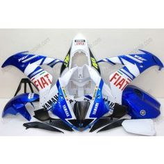 Yamaha YZF-R1 2004-2006 Injection ABS Fairing - FIAT - Blue/White | $639.00