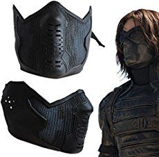 bucky barnes on sale at reasonable prices, buy Captain America 2 Winter Soldier James Buchanan/Bucky Barnes Cosplay Latex Mask High Quality Revert Version Adult Halloween from mobile site on Aliexpress Now! Winter Soldier Bucky, Winter Soldier Mask, Winter Soldier Cosplay, Bucky Barnes, Captain America 2, Captain Marvel, Latex Cosplay, Cool Masks, Masks For Sale