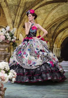 Ball Gown Floreo