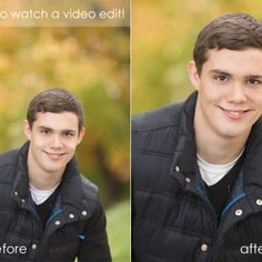 a video photoshop tutorial | before and after in CS6