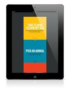 ABC iPad App by Bart De Keyzer, via Behance