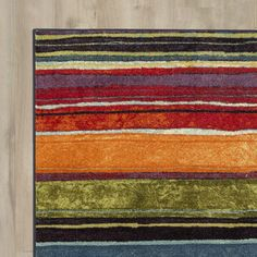 Found this rug at Wayfair.  I like all of the colors.  So many possibilities!