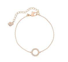 "Swarovski ""CATHY"" Bracelet *  #Swarovski #Jewelry #Crystals #Bracelet #RoseGold #SpringSummer2015 #MarianaCarmona #JewelleryDesigner #2015 #Circle"