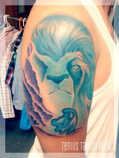 The Lion King by Tenius Tattoo Perú #tattoo #delivery #lima #lionking