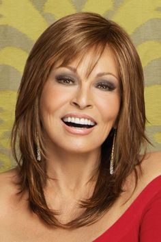 Raquel Welch wigs are the ultimate in glamour. You'll love the instant beauty enhancement achieved from this wide variety of Raquel Welch wigs. Haircuts For Fine Hair, Hairstyles For Round Faces, Layered Hairstyles, Bob Hairstyles, Trendy Hairstyles, Wedding Hairstyles, Bob Haircuts, Natural Hairstyles, Halloween Hairstyles