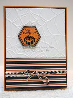 Perfectly You Halloween pumpkin card