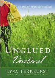 "Would you like to gain control of ""unglued"" emotions?  This book will help!  Review of Unglued Devotional by Lysa TerKeurst - I Choose Joy!"
