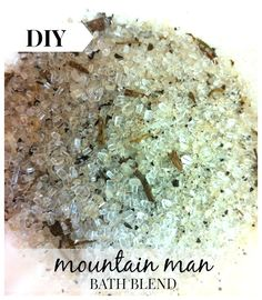 A manly blend of rustic herbs and oils. Patchouli, sage & rosemary amongst other woodland scents. This makes for a nice relaxing, therapeutic bath for the earthy mountain man. (Another manly va...