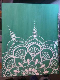 Mandala Acrylic Painting by connieApaintings on Etsy Mandala Canvas, Mandala Artwork, Mandala Drawing, Mandala Painting, Easy Canvas Painting, Diy Canvas Art, Dot Painting, Easy Paintings, Art Doodle