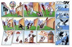 Spy vs. Spy — Peter Kuper   Peter Kuper Art Escape The Classroom, Mad Magazine, Political Art, The New Yorker, Spy, Illustrator, Original Art, Novels, Fan Art