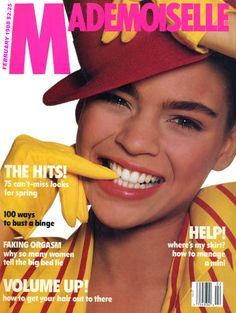 February 1988 cover with Kersti Bowser photographed by the late Richard Avedon