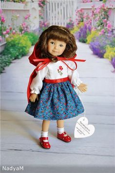 Срочно!!! Снижение цены до 13500 руб.! Красная Шапочка, молд Dianna Effner / Коллекционные куклы (винил) / Шопик. Продать купить куклу / Бэйбики. Куклы фото. Одежда для кукол