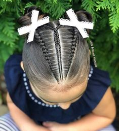 Hair Styles For Kids Cornrow 26 Ideas Baby Girl Hairstyles, Chic Hairstyles, Braided Hairstyles, Natural Hairstyles For Kids, Natural Hair Styles, Short Hair Styles, Light Blonde Hair, Loose Waves Hair, Hair Styler