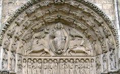Pantocrátor del tímpano de la catedral de Chartres