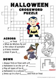 Solve Crossword Puzzles Online With The Clue Detective Puzzle Agency Choose From Quick Crosswords General Knowledge Or For Kids