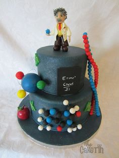Einstein  Cake by The Cake Tin
