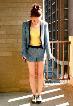 How to Wear Tweed Suit