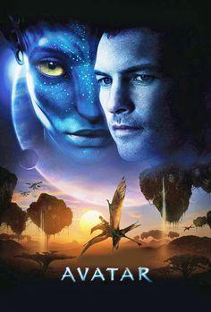Avatar movie poster - cross stitch chart