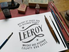 Credit Bmd - France from Behance  // Typography, color, weathered, vintage