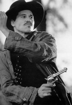 Val Kilmer - Tombstone is a 1993 American western film directed by… Tombstone Movie, Tombstone 1993, Tombstone Quotes, Tombstone Arizona, Doc Holliday Tombstone, Movie Stars, Movie Tv, Val Kilmer, Tv Westerns