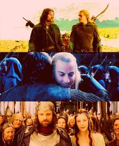 An Alliance once existed between Elves and Men. Long ago we fought and died together. We come to honor that allegiance.