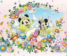 Mickey & Minnie for Tokyo Disneyland's Disney's Easter Wonderland