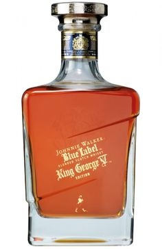 Wine & Spirits: Johnnie Walker  King George V Edition - GF Luxury