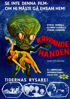 Fantastic Print Ready image taken from a vintage Sci-Fi Movie Poster. Priced at only $1.00 and you get Digital delivery to your inbox within 24 hours! To purchase just get in touch at: gledder@yahoo.co.uk Payment via Paypal. Thanks for dropping by, Greg :)