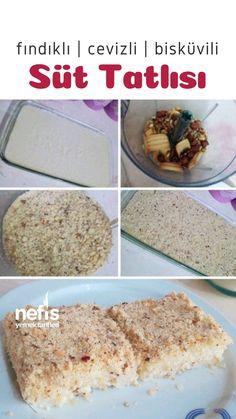Hazelnut Walnut Biscuit Milk Dessert (Both Simple and Delicious) - Yummy Recipes - Dessert Bread Recipes Homemade Desserts, Easy Desserts, Dessert Recipes, Nut Recipes, Best Bread Recipe, Banana Bread Recipes, Cakes Plus, Strawberry Desserts, Dessert Bread