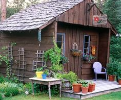 garden sheds decorated decorating a potting shed rustic shed by starmekitten garden shed garden structures pinterest gardens rustic and sheds