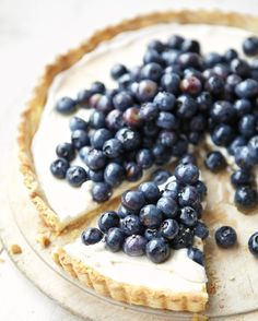 We love serving fruit every which way for dessert. Depending on the season and your mood, it's delicious grilled, chilled in an icy shake, or baked in a warm pastry shell, just to name a few. Here are our favorite fruit-filled desserts.  Blueberry-Ricotta Tart Ground almonds in this tart's crust add heart-healthy omega-3s while honey and brown sugar sweeten the filling.