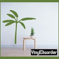 Palm Tree Wall Decal - Vinyl Decal - Car Decal - NS013