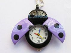 Ladybug New Stainless Steel Case Pocket Watch with Chain by Taghuge. $6.89. 2013 Fashion Watches. Wrist Watches. Gift Watches. Quartz Watches. New Design Watches. Gender:unisex, girls, boys, childrenCase Diameter Approx(cm):2.5Case Thickness Approx(cm):1Necklace Length Approx(cm):50cmMovement: QuartzDisplay:AnalogStyle:Pocket WatchType:Casual WatchesMaterial:AlloyBand Color:as Pictrue.