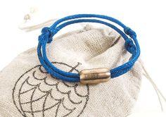 Bracenet   Save the seas. Wear a net.