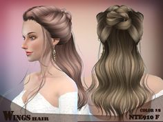 The works from Game of Thrones  Found in TSR Category 'Sims 4 Female Hairstyles'