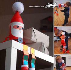 Papai Noel com Garrafa Pets