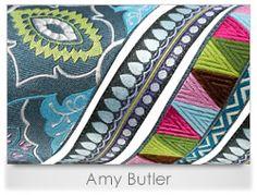 Amy Butler - Renaissance Ribbons #crafts #DIY #ribbon