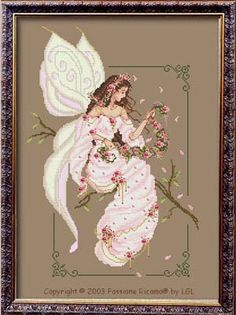 Spring Fairy Spirit - Cross Stitch Pattern by Passione Ricamo