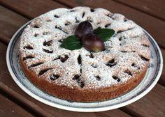 Slivkovo orechový koláč, recept   Naničmama.sk