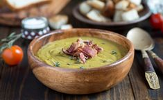 Got a taste for Canadian food? We're counting down the most iconic Canadian dishes, and the best places in the country to find them. Green Lentil Soup, Green Lentils, Canadian Dishes, Canadian Food, Pea And Ham Soup, Pea Soup, Ham Recipes, Slow Cooker Recipes, Healthy Recipes