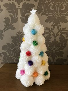 🌟Tante S!fr@ loves this pin🌟 🌟Tante S!fr@ loves this pin🌟,Häkeln 🌟Tante S!fr@ loves this pin🌟 Christmas Makes, Noel Christmas, Homemade Christmas, Christmas Wreaths, Christmas Ornaments, Unique Christmas Trees, Xmas Tree, Christmas 2019, Christmas Pom Pom Crafts