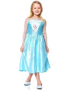Déguisement Elsa de 'La Reine des Neiges'                                                                                         bleu Enfant