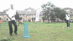 Ingram Jones Coaching  Cricket in East London 2012 Part 5