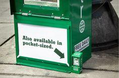 Minis distributeurs de journaux