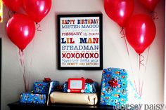 : birthday, birthday party, first birthday, Mr. One-Derful                                Readers' Request: Create Your Own Subway Art