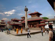 Kathmandu Durbar Square Nepal, Street View, Country, Rural Area, Country Music